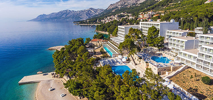 Tourist resort, Adriatic coast, Croatia